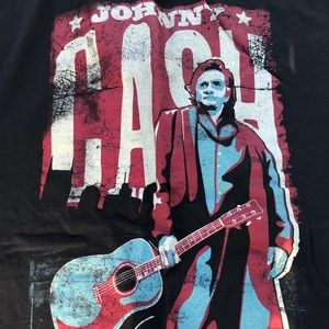 Zion Johnny Cash T-Shirt Black XL